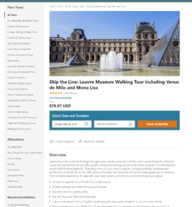 Paris_product page_skip the line Louvre