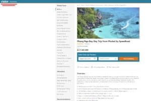 Product code search result_Phuket speedboat