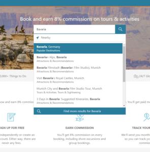 Search by region_Bavaria