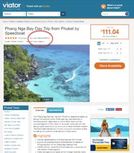 Viator site product_Phuket speedboat