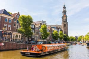 Lindbergh canal cruise amsterdam