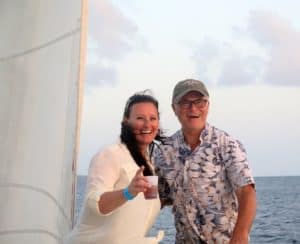 Bryan and guest - Blue Water Safaris