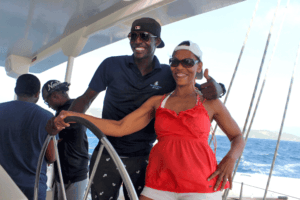 Captian-and-guest-Blue-Water-Safaris