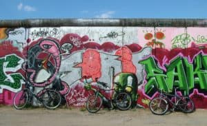 Berlin Wall graffiti