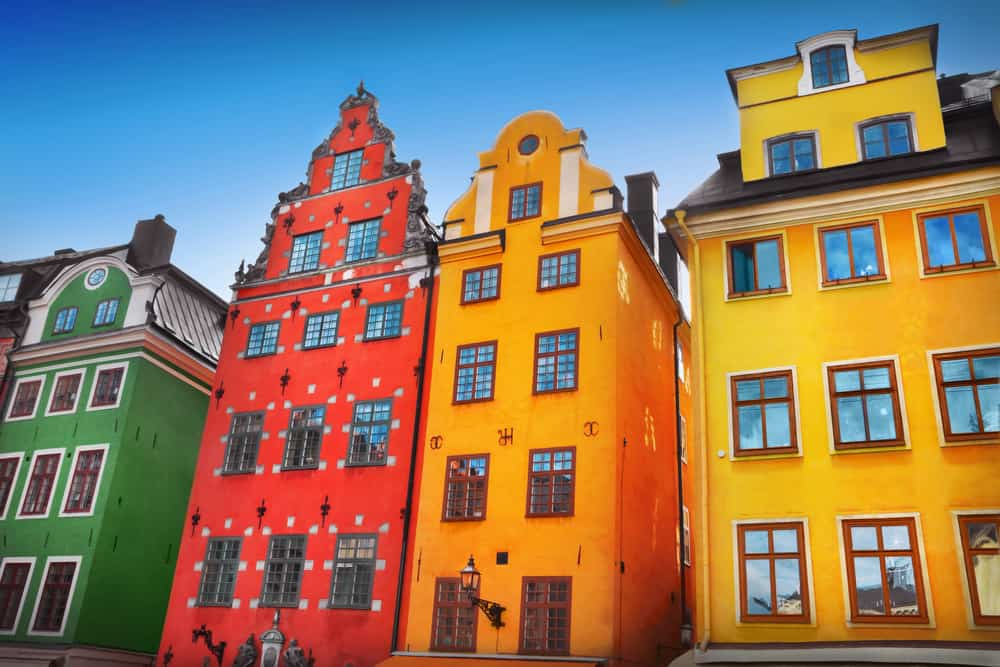 old town stockholm sweden