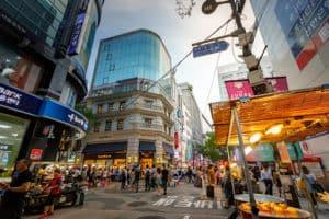 Shopping District, Shopping, Seoul