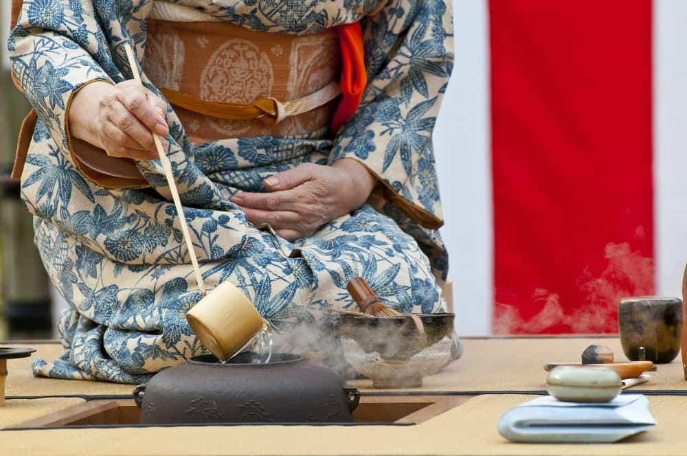Japanese Tea Kimono