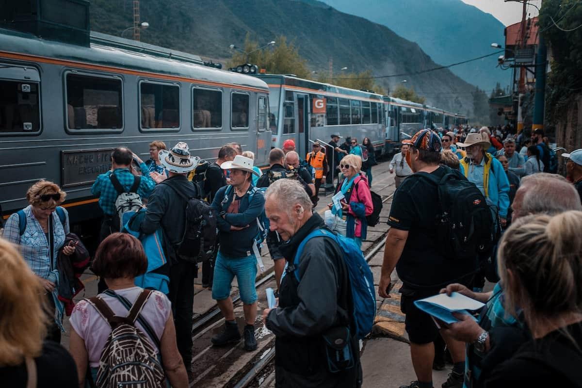 Machu Picchu Cusco train