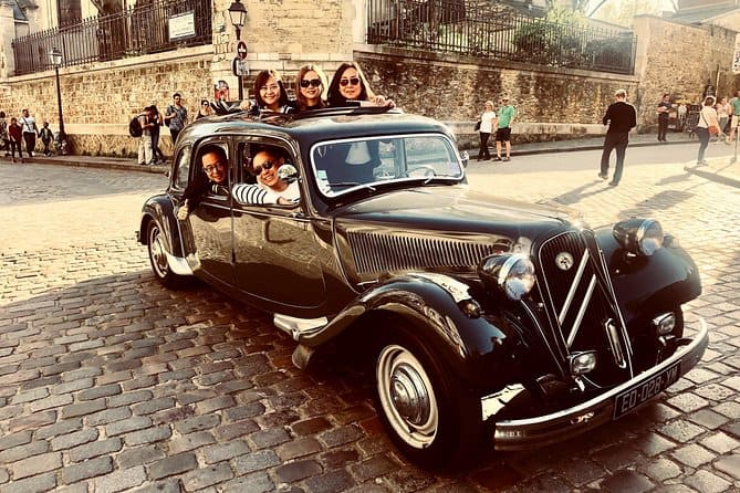Paris Private Tour by Classic French Citroën