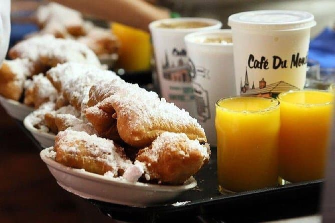 French Quarter History Tour with Cafe Du Monde Option in New Orleans