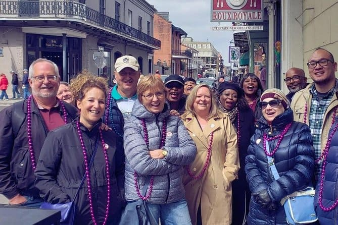 New Orleans French Quarter History Walking Tour