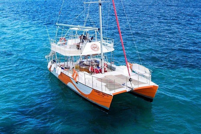 happy fish catamarans - Punta Cana Small Group Sailing and Snorkeling Catamaran Trip