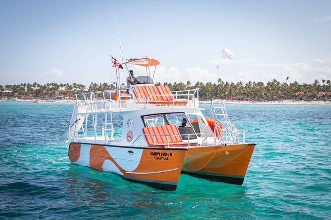happy fish catamarans - punta cana private catamaran cruise